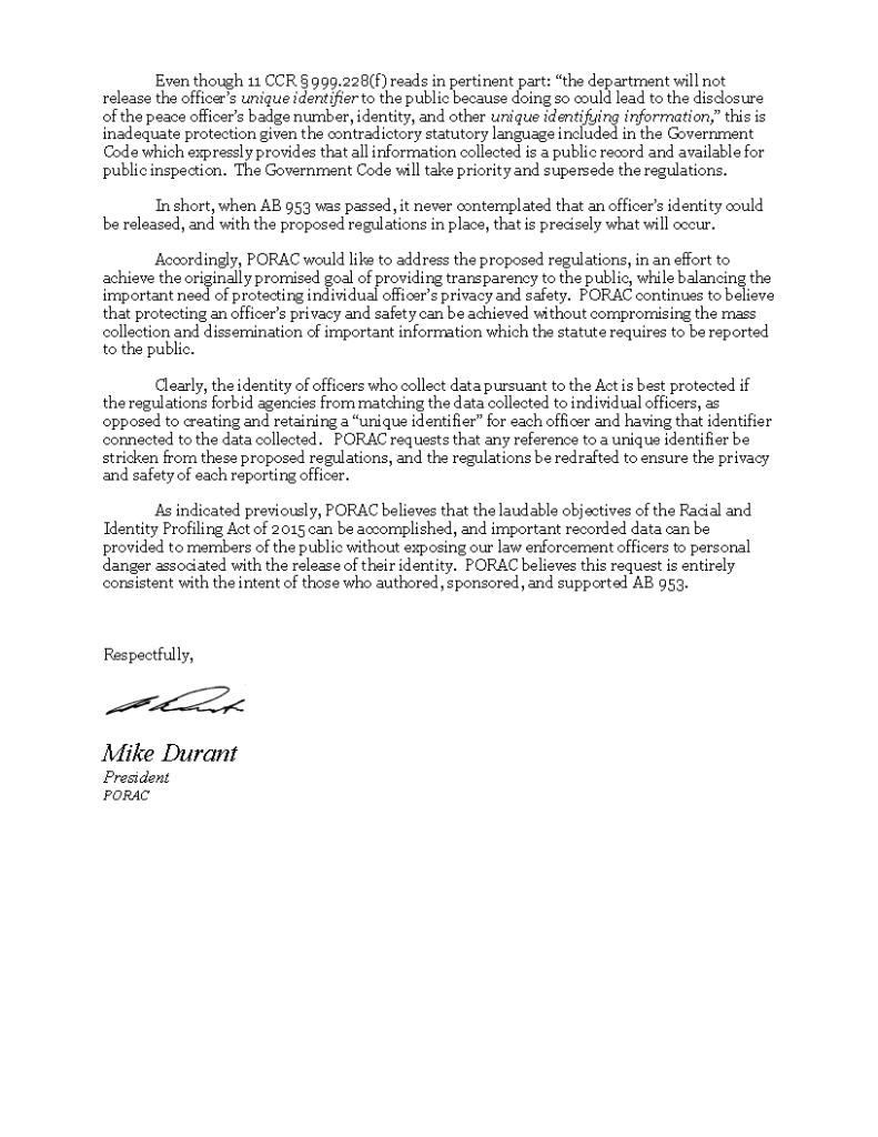 PORAC RIPA Letter (p2)